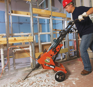 rental solution: floor covering removal projects - pro contractor