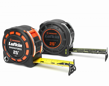 Lufkin Control Series tape measures