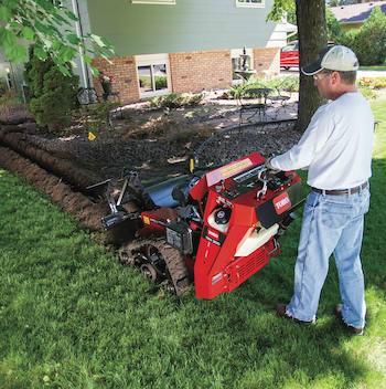 Toro TRX mini trenchers