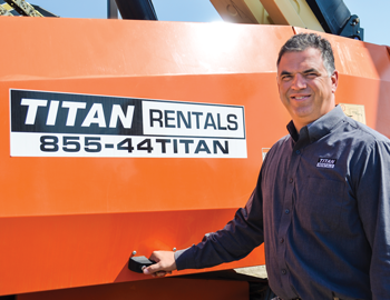 Mike Hall, Titan Machinery