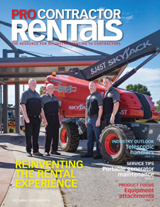 Pro Contractor Rentals September-October 2018 cover