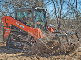 Kubota rock grapples