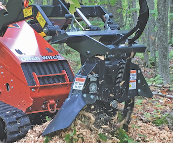 Stumper Industries stump grinder