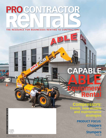 Sept./Oct. 2016 Pro Contractor Rentals