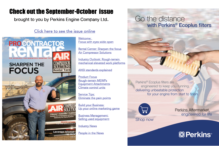 Pro Contractor Rentals September-October 2019 issue