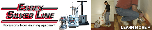 Essex Silver Line floor finishing equipment