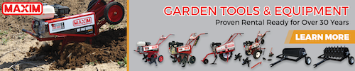 Maxim garden tools and equipment