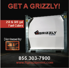 Grizzly fuel cube