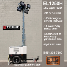 FTG Equipment Trime EL1259H light tower