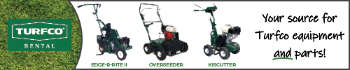 Turfco lawn equipment top ad
