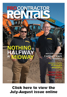 Pro Contractor Rentals magazine July-August 17