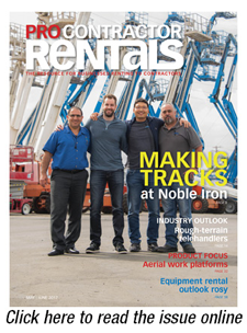 Pro Contractor Rentals May June 2017 issue