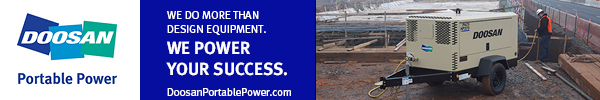 Doosan Portable Power site ad